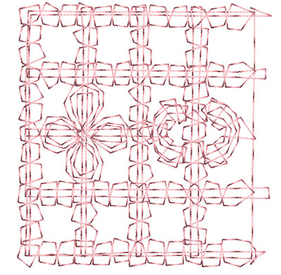 Embroidery Design: Heirloom From The Vault 8 Design 10 2.6w X 2.5h