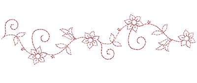 Embroidery Design: Heirloom From The Vault 9 Design 7 3.05w X 11.77h