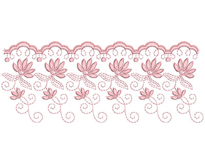 Embroidery Design: Heirloom From The Vault 9 Design 11 4.15w X 10.23h