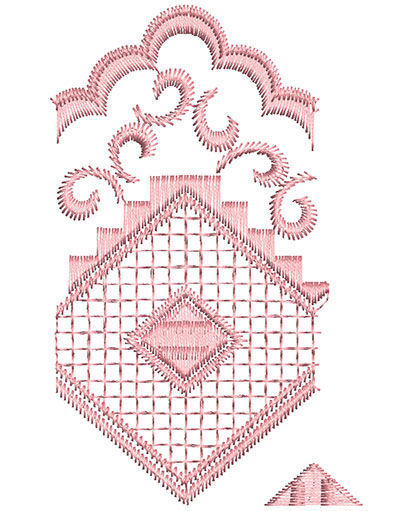 Embroidery Design: Heirloom From The Vault 10 Design 5 4.17w X 2.6h