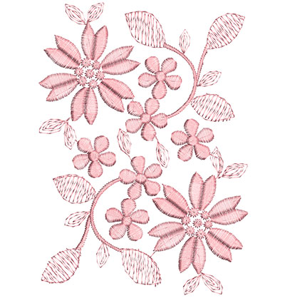 Embroidery Design: Heirloom From The Vault 10 Design 7 6.26w X 4.49h