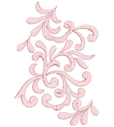 Embroidery Design: Heirloom From The Vault 10 Design 11 7.48w X 5.11h