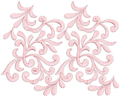 Embroidery Design: Heirloom From The Vault 10 Design 12 7.48w X 9.41h
