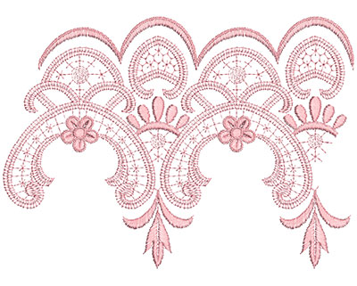 Embroidery Design: Heirloom From The Vault 11 Design 2 6.92w X 9.62h