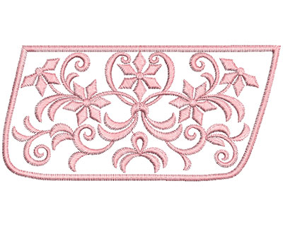 Embroidery Design: Heirloom From The Vault 11 Design 9 3.30w X 6.75h
