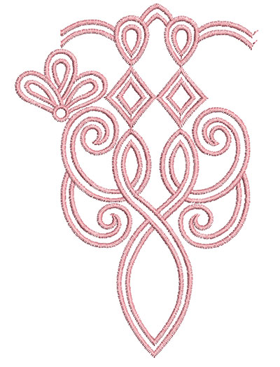 Embroidery Design: Heirloom From The Vault 12 Design 1 5.97w X 4.11h