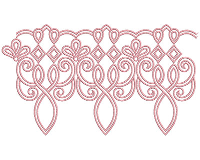 Embroidery Design: Heirloom From The Vault 12 Design 2 5.97w X 10.52h