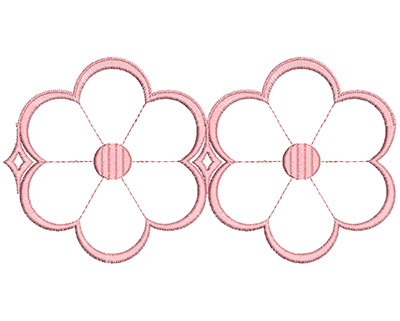 Embroidery Design: Heirloom From The Vault 12 Design 10 4.68w X 8.90h