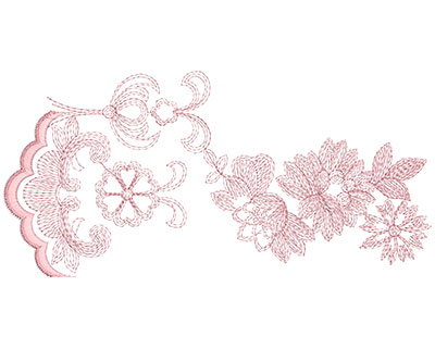 Embroidery Design: Heirloom From The Vault 12 Design 11 5.31w X 11.05h