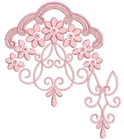 Embroidery Design: Heirloom From The Vault 13 Design 2 5.98w X 5.10h