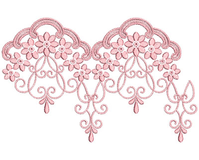 Embroidery Design: Heirloom From The Vault 13 Design 3 5.98w X 9.40h