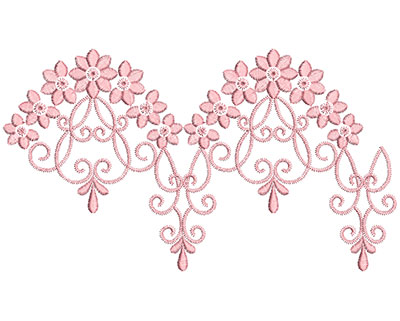 Embroidery Design: Heirloom From The Vault 13 Design 5 5.28w X 9.37h