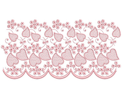 Embroidery Design: Heirloom From The Vault 13 Design 7 5.64w X 11.31h
