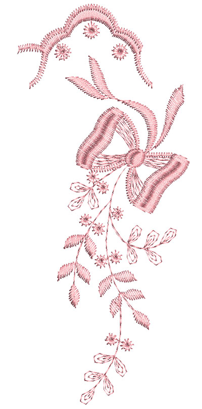 Embroidery Design: Heirloom From The Vault 13 Design 8 7.05w X 3.03h