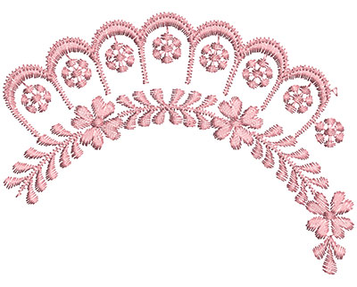 Embroidery Design: Heirloom From The Vault 13 Design 10 3.44w X 4.61h