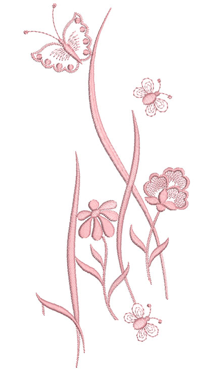 Embroidery Design: Heirloom From The Vault 14 Design 2 5.38w X 11.73h
