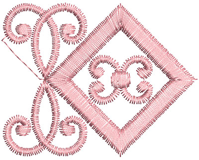 Embroidery Design: Heirloom From The Vault 14 Design 5 2.20w X 2.80h