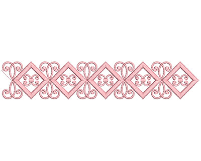 Embroidery Design: Heirloom From The Vault 14 Design 6 2.20w X 11.41h