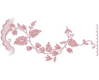 Embroidery Design: Heirloom From The Vault 14 Design 8 4.63w X 10.17h