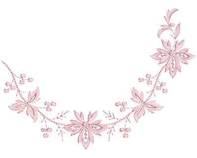 Embroidery Design: Heirloom From The Vault 14 Design 9 7.37w X 10.12h