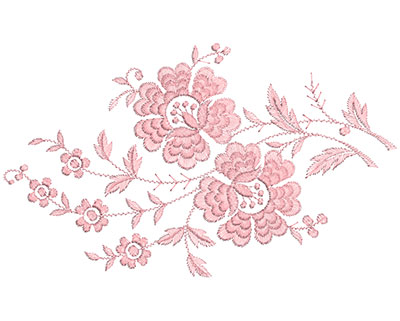 Embroidery Design: Heirloom From The Vault 14 Design 10 6.56w X 11.01h