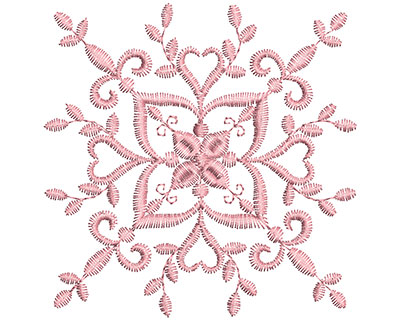Embroidery Design: Heirloom From The Vault 15 Design 4 3.88w X 3.85h