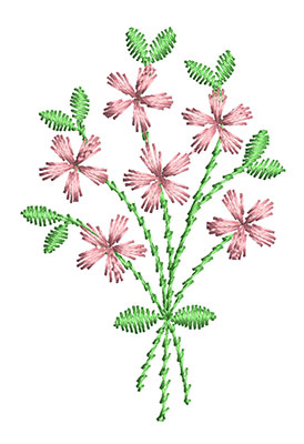 Embroidery Design: Heirloom From The Vault 15 Design 6 2.33w X 1.57h