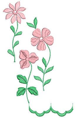 Embroidery Design: Heirloom From The Vault 15 Design 8 8.39w X 5.13h