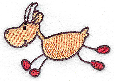 Embroidery Design: Goat 3.79w X 2.67h
