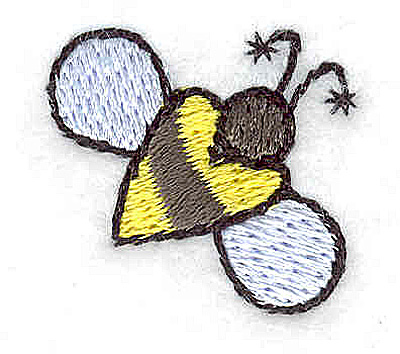 Embroidery Design: Bee small 1.02w X 0.93h
