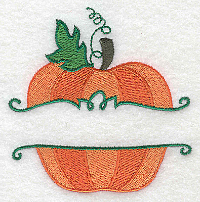 Embroidery Design: Pumpkin small 3.52w X 3.57h