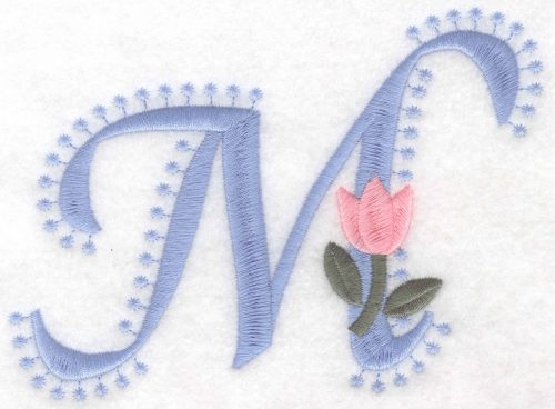 Embroidery Design: M Large4.15inH x 5.89inW