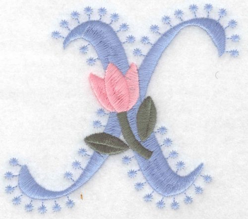Embroidery Design: X Large3.52inH x 4.08inW