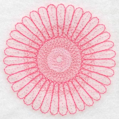 Embroidery Design: Spiral stitch one hundred one 3.90w X 3.90h