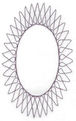 Embroidery Design: Spiral stitch one hundred ten4.00w X 6.50h