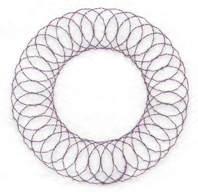 Embroidery Design: Spiral stitch one hundred seventeen2.50w X 2.50h