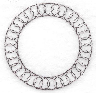 Embroidery Design: Spiral stitch one hundred twenty three2.50w X 2.50h