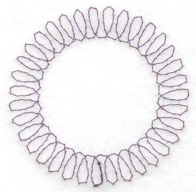 Embroidery Design: Spiral stitch one hundred twenty six2.50w X 2.50h