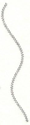 Embroidery Design: Spiral stitch one hundred forty three1.02w X 6.61h