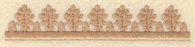 Embroidery Design: Oak leaf and acorn border3.90w X 0.76h