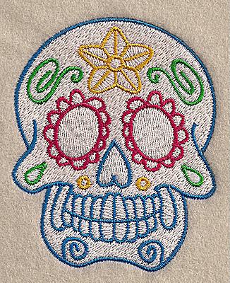 Embroidery Design: Skull A 2.80w X 3.47h