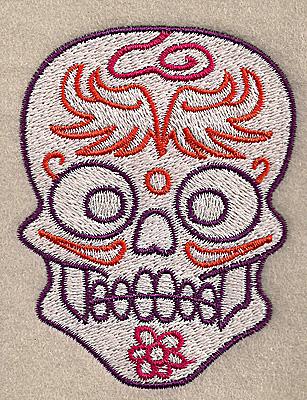 Embroidery Design: Skull H 2.67w X 3.50h
