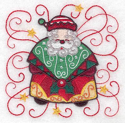 Embroidery Design: Santa I small 3.87w X 3.86h