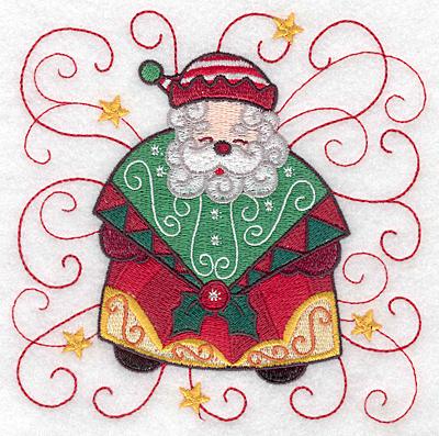 Embroidery Design: Santa I large 4.97w X 4.96h