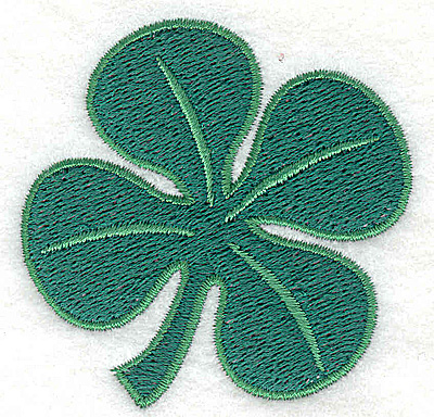 Embroidery Design: Clover small 2.58w X 2.57h