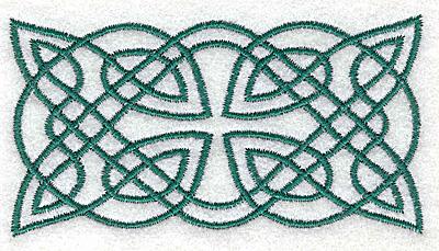 Embroidery Design: Celtic symbol3.50w X 1.89h