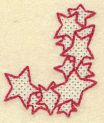 Embroidery Design: J small 1.66w X 2.01h