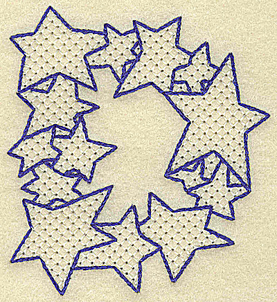 Embroidery Design: D large 3.20w X 3.52h