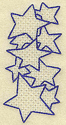 Embroidery Design: I large 1.67w X 3.53h