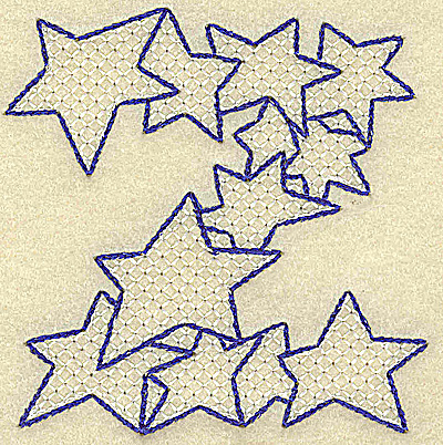 Embroidery Design: Z large 3.50w X 3.51h